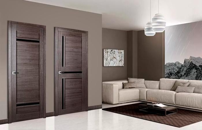 двери купить коричневые